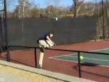 Come non entrare in un campo da tennis