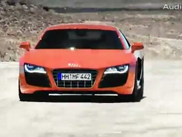 The Audi R8: Maximum Audi