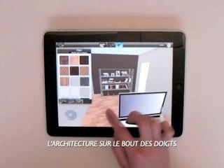 HOME DESIGN 3D IPAD BY LIVECAD (TRAILER FR) APP APPLE