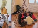 Racines et souches. Exposition de sculptures pour enfants