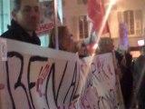Manifestation de soutien aux peuples tunisiens et égyptiens