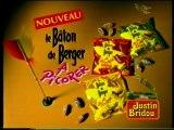 Publicité Le Bâton De Berger A Picorer Justin Bridou 1998