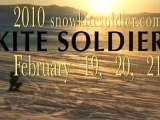 Kite Soldier: Idaho's Awesome Snowkiting Location