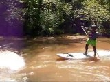 Whitewater Stand Up Paddling - SUP