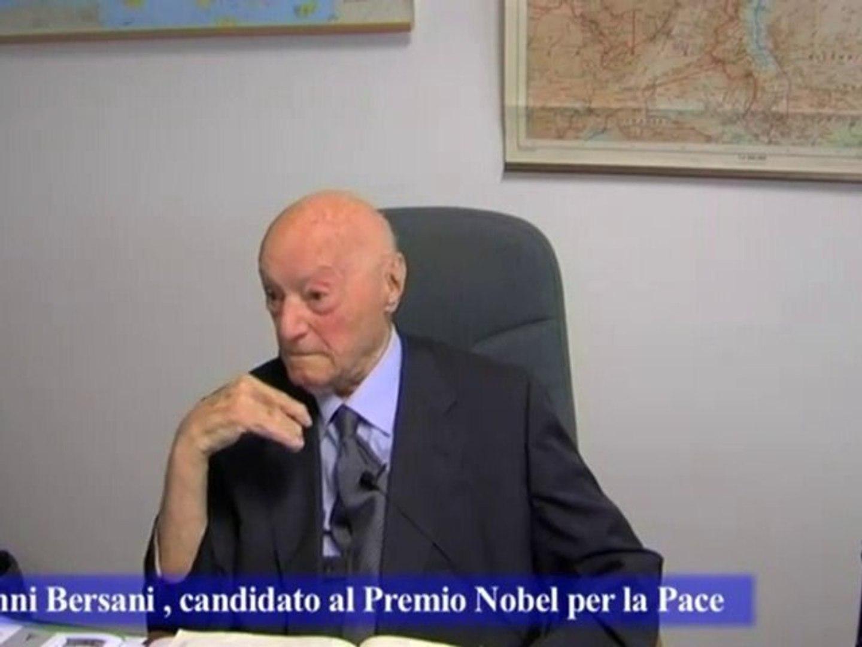 Intervista a Giovanni Bersani, candidato al Premio Nobel per la Pace - Parte 7