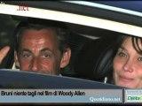 Per Carla Bruni niente tagli nel film di Woody Allen
