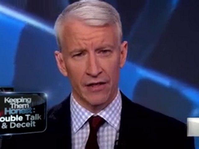 "Anderson Cooper: ""The Mubarek regime tells lie after lie."""