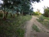 Canberra Australia-MTB Singletrack Helmet Cam - Red Hill Reserve Top To Bottom Run