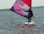 Windsurfing freestyle - jumping around