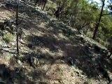 "Canberra/Queanbeyan Australia - MTB Singletrack Helmet Cam -  ""Jerra"" Off Camber Singletrack"