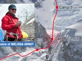 Melissa Arnot and Morton Check-in from Everest Camp II