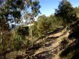 Canberra Australia - 3 Mt Stromlo Single MTB Singletrack Helmet Cam - Rollercoaster/Skyline/Luge alt. route