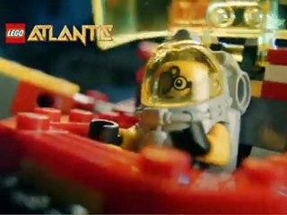 LEGO Atlantis Le temple du Roi Doré