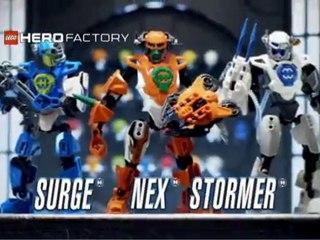 Lego Hero Factory : Nex 2.0 vs Drilldozer