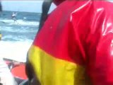 Kirsty Jones long distance world record kite surfing