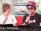 RVCA Skate Pro Cory Kennedy: Zumiez Couch Tour Interview