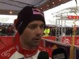 WRC - Rally SUEDE 2011 - Shakedown CITROEN RACING