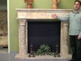 StoneBella, carved fireplace mantels, fireplace hearth