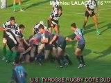 Saison 2008/2009  equipe 1 Tyrosse/rome essai1