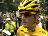2010 Tour de France -  Andy Schleck Interview