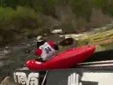 Female Kayak Dominator Nikki Kelly from New Zealand at the 2009 Teva Mountan Games Vail, Colorado