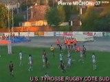 Saison 2008/2009  equipe 1 Marmande/Tyrosse essai2