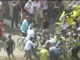 Tour De France - Frank Schleck Crash  in Stage 3