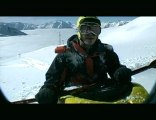 Snow Kayaking - Big Mountain Style.