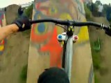 Insane Freestyle Mountain Biking at Post Office Bike Jam