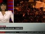 Cofianza y alegría entre los manifestantes egipcios, que festejan la renuncia de Mubarak