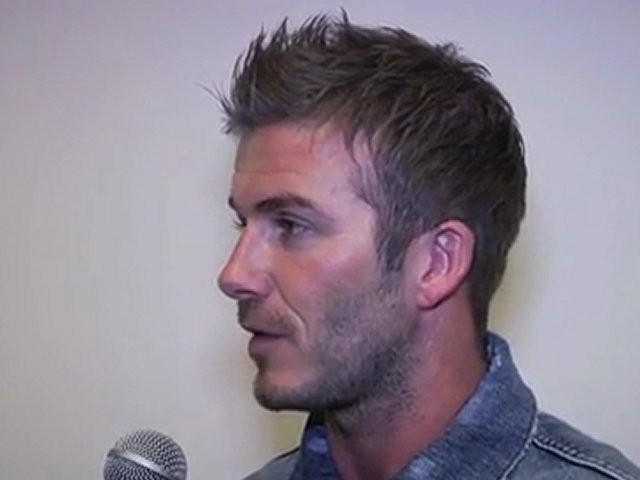 David Beckham speaks out on Manchester United & the 2010 MLS All Star Game