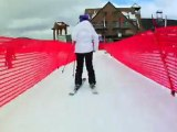 Roxy's Alexis Waite, Erin Comstock, and Amber Stackhouse Twin Tip Ski Session