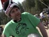 Downhill Freeride Testival in Obsteig - Mieminger Plateau - begeisterte Mountainbike Szene