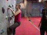 How to Do Indoor Rock Climbing : Beginning Techniques for Indoor Rock Climbing