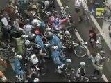 Giro d'Italia 2010 - Stage 2  - Crashes, crashes and more crashes...