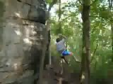 Rock Climbing Fall: Climber Falls and Breaks Ankle