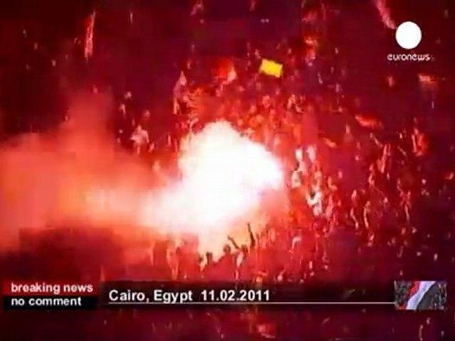 L'Egypte explose de joie après la... - no comment