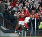 Manchester United 2-1 Manchester City Rooney overhead goal