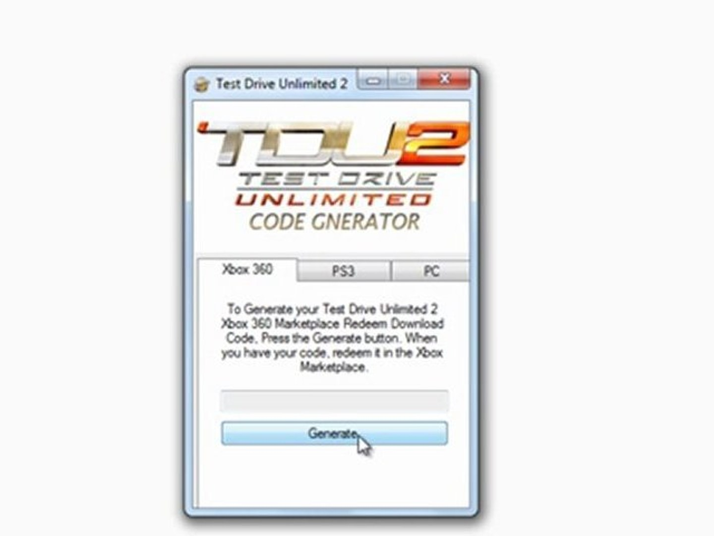 test drive unlimited 2 unlock code and serial number
