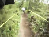 HD Helmet Cam Race footage from Giant Downhill MTB Racing Pro riders at Port Angeles ProGRT 2010