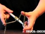 Comment monter des mailles en tricot par TrucsetDeco.com