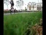 "UniGeezer: ""Flight Line""  (Cable cam unicycling!)"