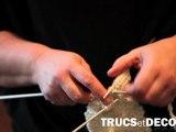 Tricoter une maille torsadée en tricot par TrucsetDeco.com
