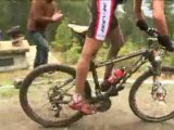 Action from The UCI Mountain Bike World Cup Vallnord, Andorra 2008