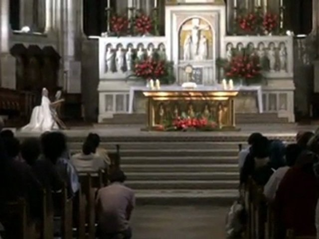 Adoration à la Basilique du Sacré-Coeur de Montmartre