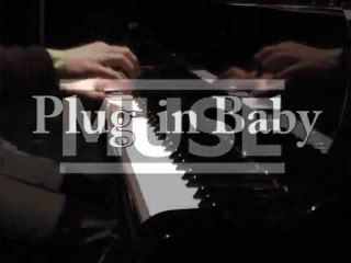 Muse - Plug in Baby - Bebop piano couverture