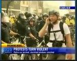 Riots beim G20 Gipfel in Toronto