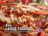 Papa John's Pizza Publicité Superbowl 2011