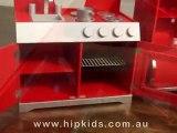 Hip Kids Retro Wooden Pretend Play Toy Kitchen