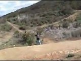 Downhill Mountain Biking Jumps and Crashes Ted Williams